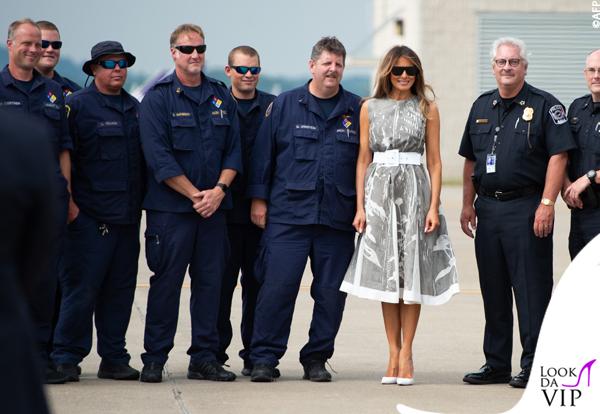 Melania Trump wardrobe malfunction