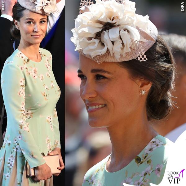 Pippa Middleton Royal Wedding abito The Fold London scarpe Jimmy Choo borsa Jimmy Choo