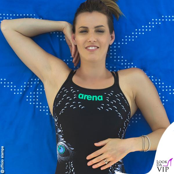 Tania Cagnotto testimonial costumi Arena