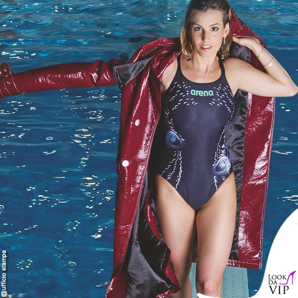 Tania Cagnotto testimonial costumi Arena 8