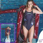 Tania Cagnotto testimonial costumi Arena copertina libro