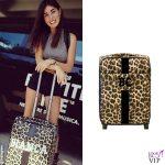 Bianca Atzei valigia Mia Bag