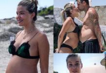 Costanza Caracciolo Christian Vieri bikini Oseree