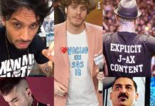 Fabrizio Moro Lo Stato Sociale J-Ax sfera Ebbasta Roy Paci tshirt personalizzate