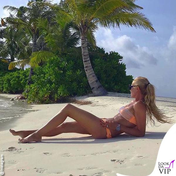 Federica Panicucci Maldive bikini 1