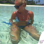 Federica Panicucci Maldive bikini le Naty 3