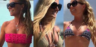 Federica Panicucci bikini