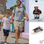 Gardaland Leon Alexander Biaggi Nicolò De Devitiis tshirt Ralph Lauren scarpe Adidas