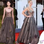 Jennifer Lawrence abito Christian Dior INSTAGRAM