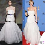 Jennifer Lawrence abito Dior Golden Globe 2014