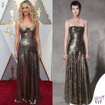 Jennifer Lawrence abito Oscar 2018 Dior INSTAGRAM