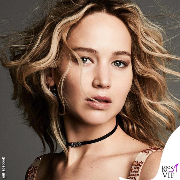 Jennifer Lawrence per Dior