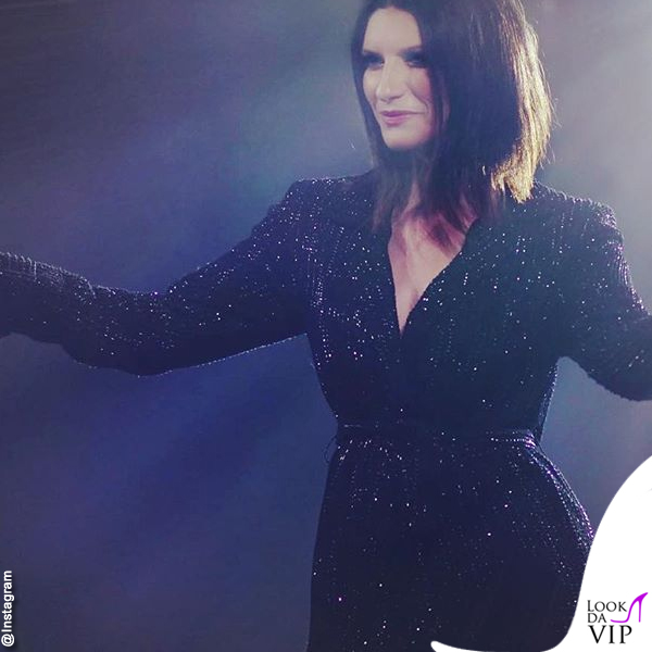 Laura Pausini World Wide Tour abito Renato balestra