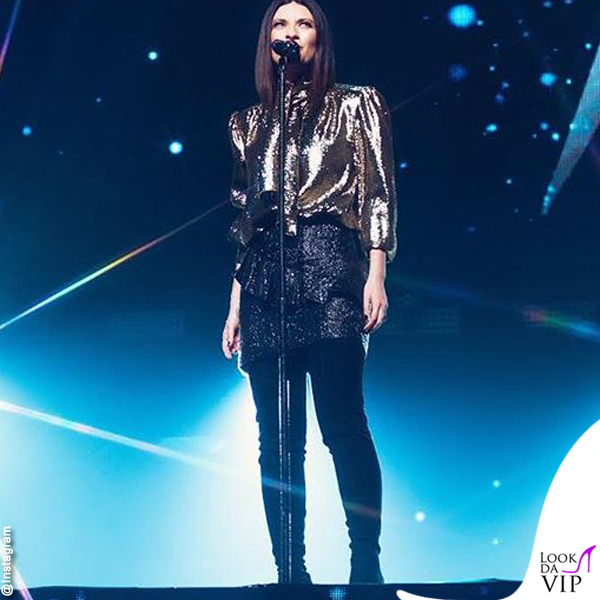Laura Pausini World Wide Tour completo Alberta Ferretti