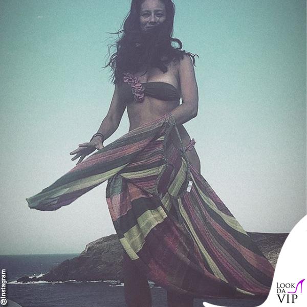 Marica Pellegrinelli costume La Reveche