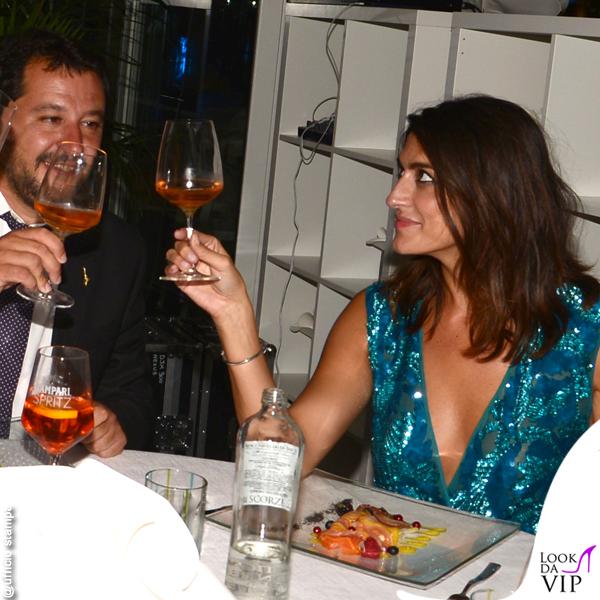 Elisa Isoardi Venezia 75 total look Elisabetta Franchi