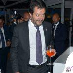 Venezia 75 Elisa Isoardi total look Elisabetta Franchi Matteo Salvini