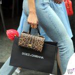 Bianca Balti shopping da Dolce & Gabbana