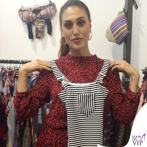 Cecilia Rodriguez vestito Zara stivali YSL costume intero Me Fui
