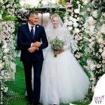 Chiara Ferragni primo abito da sposa Dior scarpe J'adior 3