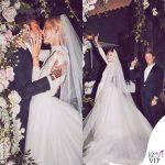 Chiara Ferragni primo abito da sposa Dior scarpe J'adior 6