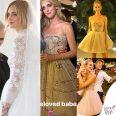 Chiara Ferragni tre abiti da sposa Dior scarpe J'adior Fedez Maria Grazia Chiuri