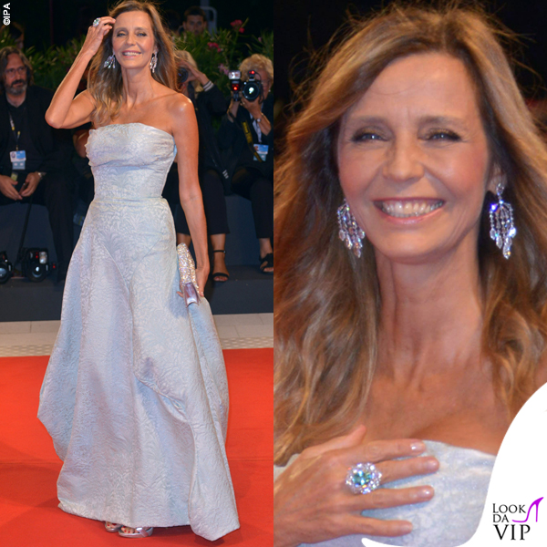 Eliana Miglio abito Vivienne Westwood gioielli Crivelli