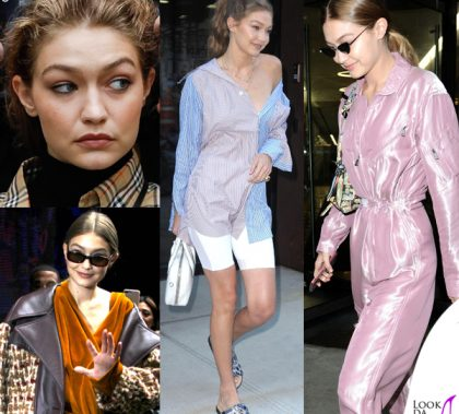 Gigi Hadid New York Fashion Week 3