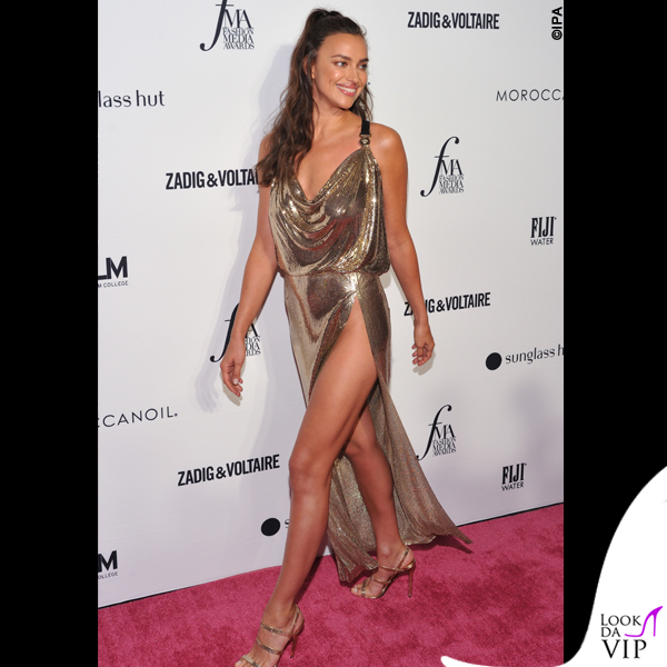 Irina Shayk abito Versace