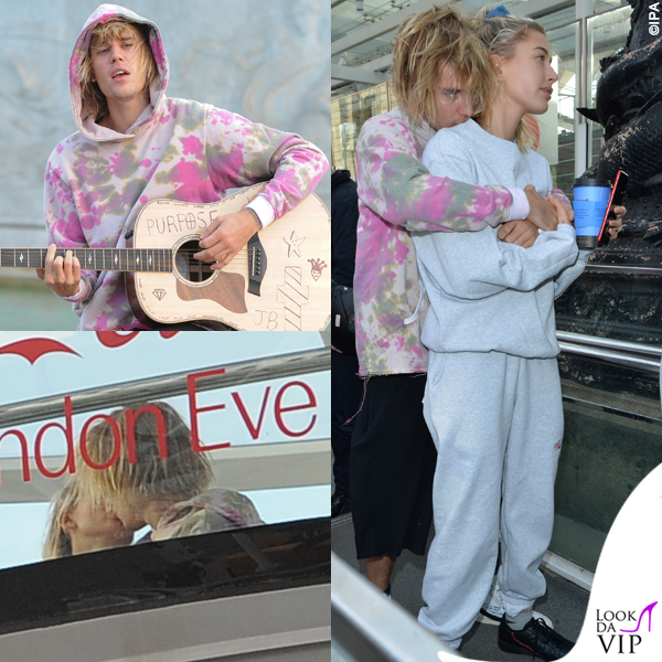 JustinBieber Hailey Baldwin Londra sneakers Nike x Off White Adidas calze Vetements tuta Cherry 6