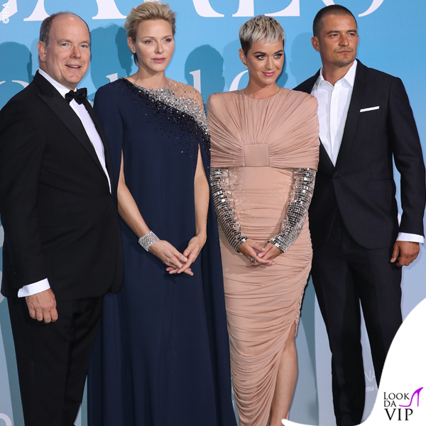 Katy Perry e Orlando Bloom Ocean Global abito Tom Ford 3