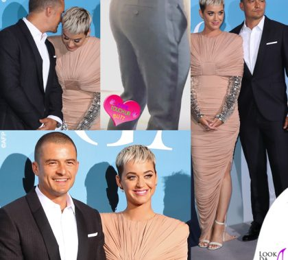 Katy Perry e Orlando Bloom Ocean Global abito Tom Ford