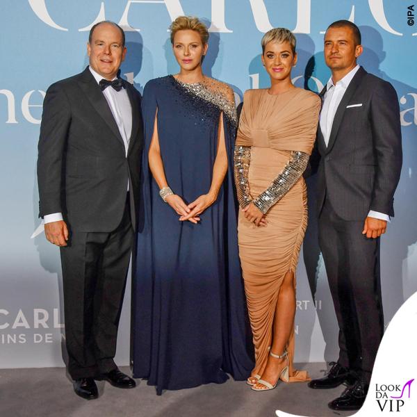 Katy Perry e Orlando Bloom Ocean Global abito Tom Ford 7