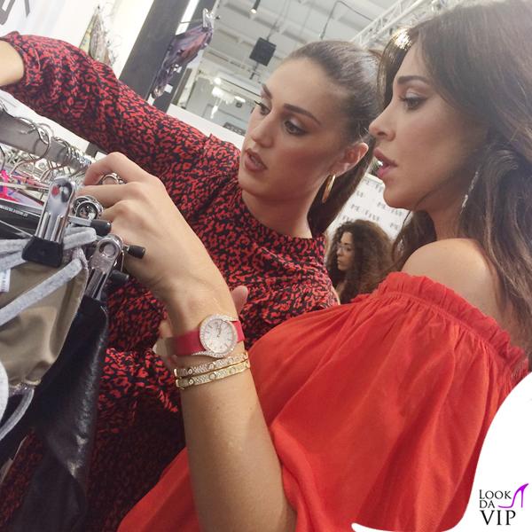 Me Fui Cecilia Rodriguez vestito Zara stivali YSL Belen Rodriguez jeans Revise camicia Zara scarpe Ash 1