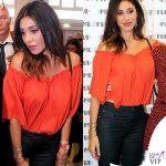 Belen Rodriguez jeans Revise camicia Zara scarpe Ash 7