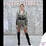 Melissa Satta outfit Alberta Ferretti