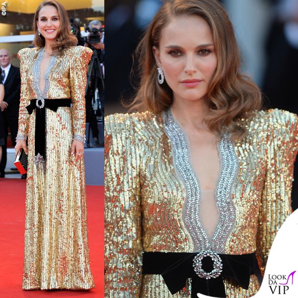 Natalie Portman abito Gucci