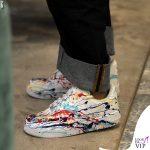 Nina Zilli total look Vivienne Westwood scarpe Nike Air Force 1