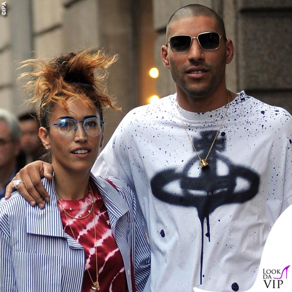 Nina Zilli total look Vivienne Westwood scarpe Nike Omar Hassan shopping Casadei
