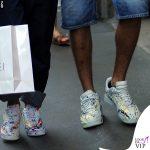 Nina Zilli total look Vivienne Westwood scarpe Nike Omar Hassan shopping Casadei 3