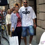 Nina Zilli total look Vivienne Westwood scarpe Nike shopping Casadei 1