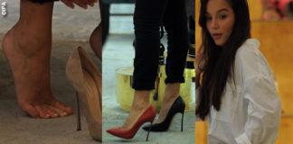 Paola Di Benedetto Paola Benegas shopping scarpe Casadei