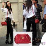 Paola Di Benedetto Paola Benegas shopping scarpe Casadei borsa Gucci INSTGARAM