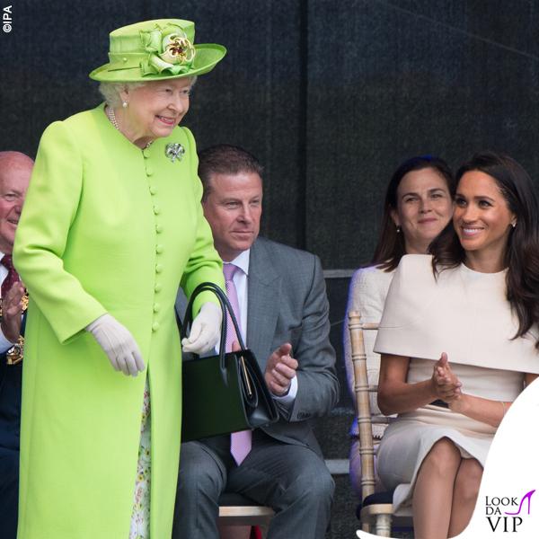Regina Elisabetta verde fluo