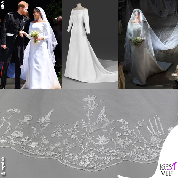 Royal Wedding Principe Harry Meghan Markle abito da sposa Givenchy
