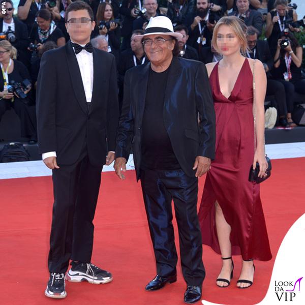 Venezia75 Al Bano in Carlo Pignatelli Yasmine Carrisi abito Asos borsa Valentino Bido 2