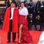 Venezia75 Elio e Bianca Balti abito OVS La Traviata