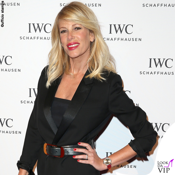 Alessia Marcuzzi orologio IWC