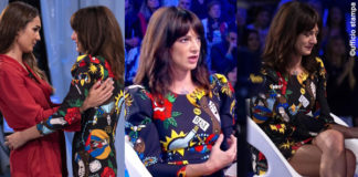Asia Argento Verissimo abito Anye By Silvia Toffanin abito Alberta Ferretti 8