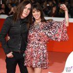 Asia Argento e Manuel Agnelli Festival del cinema di Roma abito Aniye By